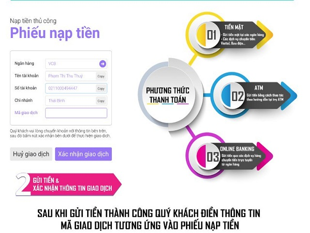 nạp tiền one88